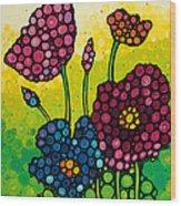 Summer Garden 2 Wood Print
