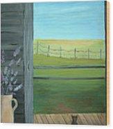 Summer Wood Print by Glenda Barrett