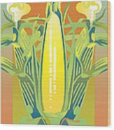 Summer Harvest Wood Print