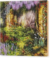 Summer - I Found The Lost Temple  Wood Print