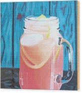 Summer In A Mug Wood Print