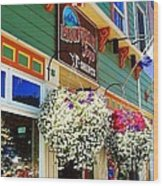 Summer In Crested Butte Wood Print by Trisha Buchanan