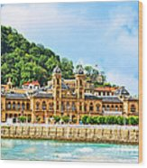 Summer In St Sebastian Wood Print
