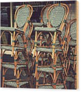 Summer Is At A Close Wood Print by Kenneth Feliciano