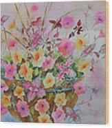 Summer Joy Wood Print