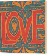 Summer Love  Wood Print