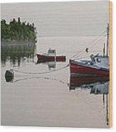 Summer Morning Stillness Wood Print
