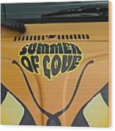 Summer Of Love Wood Print