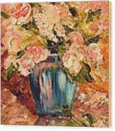 Summer Petals Wood Print by Barbara Pirkle