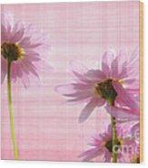 Summer Pinks Wood Print