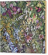 Summer Prairie I Wood Print by Helen Klebesadel