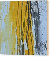 Summer Rein- Abstract Wood Print