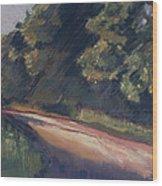 Summer Roads Wood Print