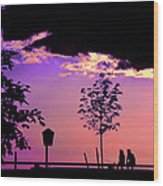 Summer Romance Wood Print