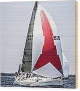 Summer Sailing Wood Print