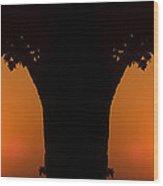 Summer Sunrise Composite Wood Print