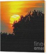 Summer Sunset #3 Wood Print