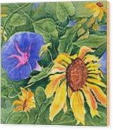 Summer Tango Wood Print