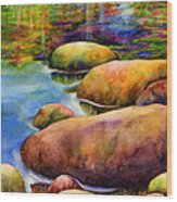 Summer Tranquility Wood Print