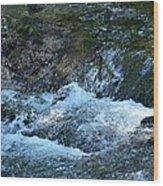 Summer Waters Wood Print