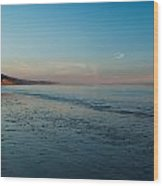 Summerland Blue Sky Wood Print