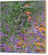 Summer's Colors Wood Print