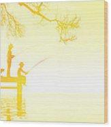 Summertime Wood Print