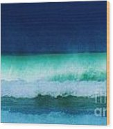 Summertime Surf Wood Print