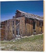 Summitville - Colorado Ghost Town Wood Print