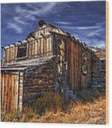 Summitville Fixer-upper  Wood Print