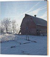 Sun Barn Wood Print