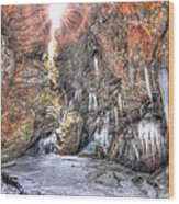 Sun Cave Wood Print