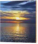 Sun Down South Wood Print