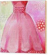 Sun Dress Wood Print