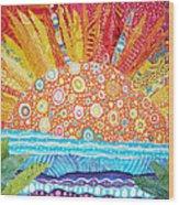 Sun Glory Wood Print by Susan Rienzo