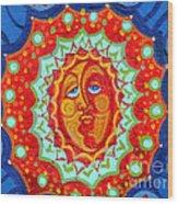 Sun God Wood Print