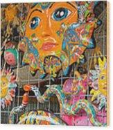 Wimberley Texas Sun Goddess And Her Court Wood Print