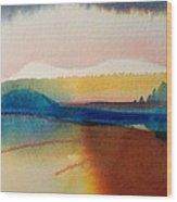 Sun Mountain For Jennifer B Wood Print