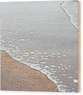 Sun Sand And Sea Wood Print