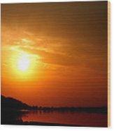 Sun Set- Viator's Agonism Wood Print