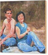 Sun Shulan Wood Print