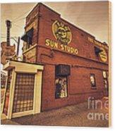Sun Studios Memphis  Wood Print