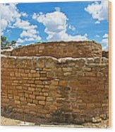 Sun Temple-1250 Ad In Mesa Verde National Park-colorado Wood Print