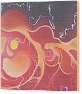 Sun Visions - The Gauntlet Wood Print