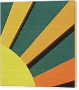 Sunbeams Wood Print