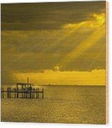Sunbeams Of Hope Wood Print