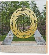 Sunbird Sculpture, Chengdu, China Wood Print
