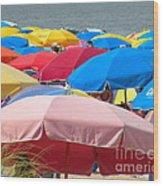 Sunbrellas Wood Print