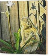 Sunday Morning Angel Wood Print