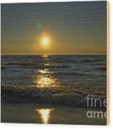 Sundown Gazing Wood Print